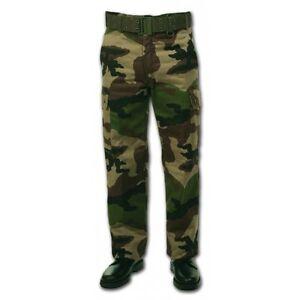 foderato e in freddo esercito francese T a pile Camo 38 C Pantalone qzAHwq