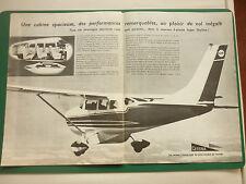 6/1966 PUB CESSNA AIRCRAFT AVION CESSNA SUPER SKYLANE FLUGZEUG ORIGINAL ADVERT