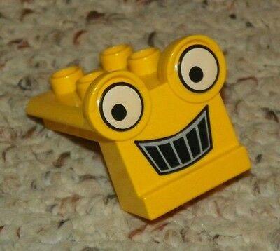 Backhoe Grille LEGO Duplo - Yellow Bob the Builder Scoop/'s Face