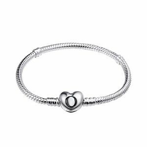 Love-Bracelet-chain-For-925-European-sterling-dangle-Silver-charms-Pendant-Bead