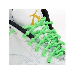 Xtenex X300 Flared Running Shoe Laces-40 in-Neon Green-Triathlon-Quick-New