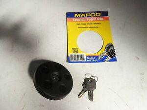 Mafco-Lockable-Fuel-Cap-Vauxhall-VX-Ventora-Hillman-Minx-sealed-with-2-keys