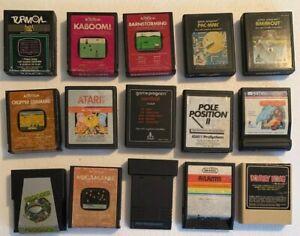 15x-Atari-2600-Mixed-Lot-UNTESTED-Video-Game-Cartridges-Pacman-Frogger-DK
