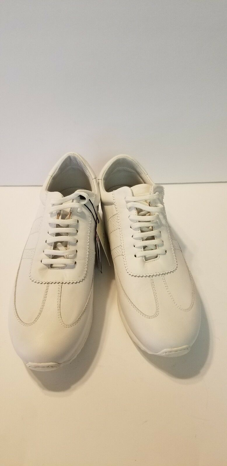 ZARA en Cuir blanc Uniforme Baskets 11