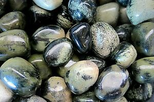 ONE-CHYTHA-Tumbled-Stone-30-35mm-QTY1-Serpentine-Jade-Combo-Healing-Crystal