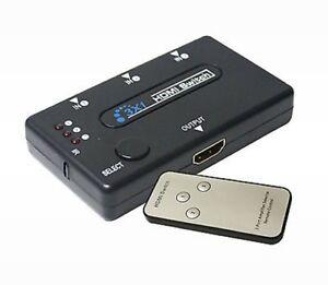 3 Voies Commutateur Hdmi + Télécommande (1080p) 0al42vfg-07182538-776322989