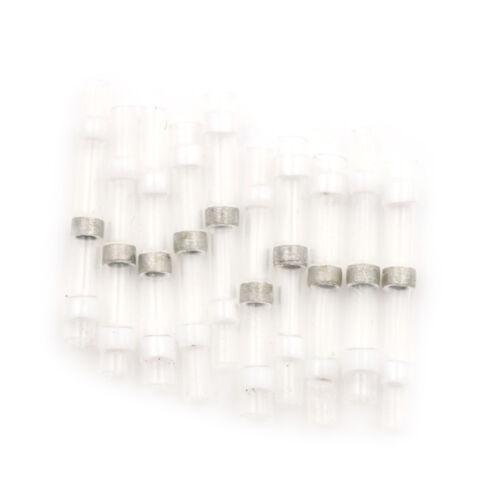 10X Waterproof Solder Sleeve Heat Shrink Butt Wire Splice Connector 26-24A FE