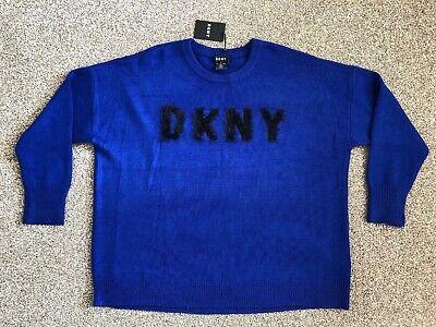 Dkny City Lights P 8 Jsmdhb Sap Donna Maglione Taglia Xl Nuova Con Etichetta Blu-mostra Il Titolo Originale