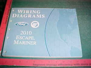 image is loading 2010-ford-escape-mercury-mariner-wiring-diagrams-manual-