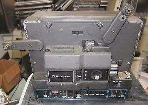 Details about BELL & HOWELL FILMSONIC MODEL 626R 8MM PROJECTOR VINTAGE  NEEDS PART