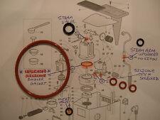 Gaggia Classic Baby Tebe Paros Evolution Etc 7x O Ring Service kit Boiler Seal