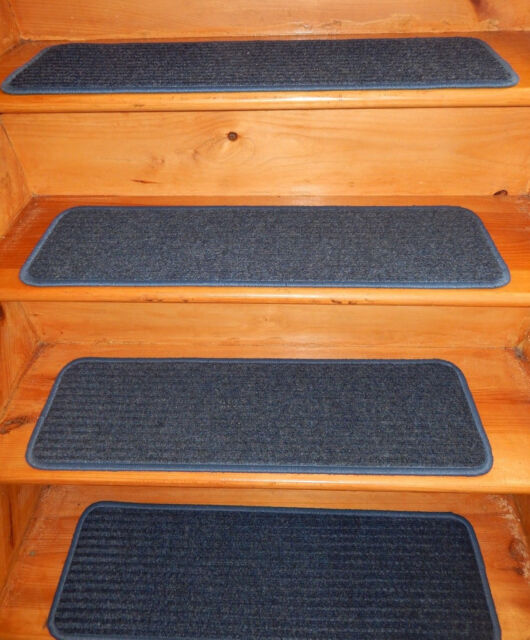 13  Step  9'' x 30''  In/Outdoor Stair Treads Non-Slip Vinyl.