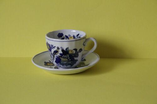 Spode Blue Bird Kaffeetasse mit Untertasse Tasse Untere Gedeck