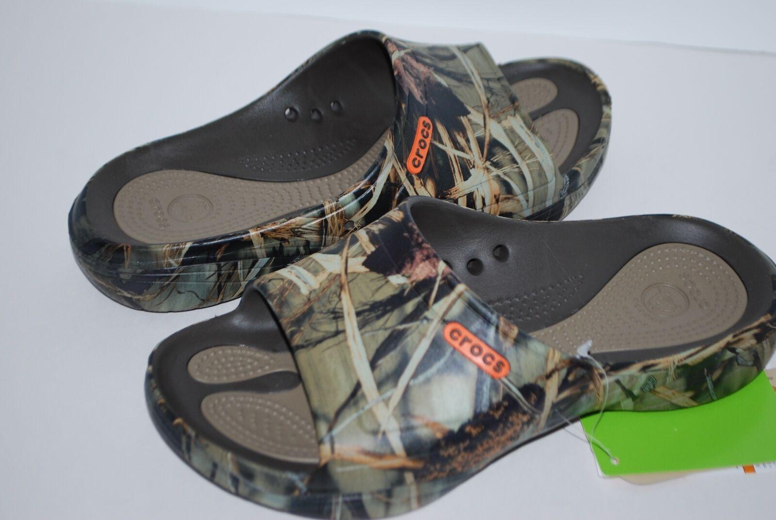 NWT NEW CROCS MODI 2.0 REALTREE MAX-4 SLIDE shoes 7 8 9 10 11 12 13 men