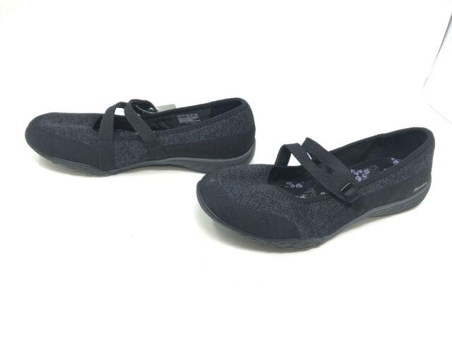 Womens Skechers Wide Fit Black Lucky