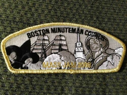 MINT CSP Boston Minuteman Council SA50 2008 MASS JAM