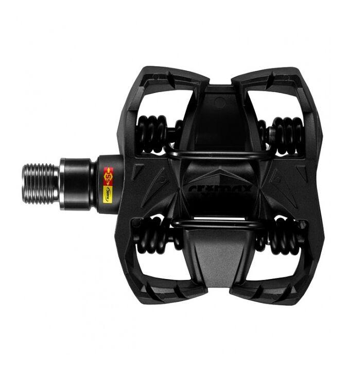 MTB Pedale Mavic Crossmax XL Ti Carbon Körper Titan Achse