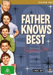 Father-Knows-Best-Season-One-DVD-2008-4-Disc-Set-New-Sealed-Region-4