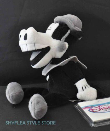 "Horace Horsecollar Disney Store Mini Bean Bag Black White Plush 8/"" Horse New"