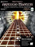Arpeggio Madness Insane Concepts & Total Mastery Rusty Cooley Book Dvd