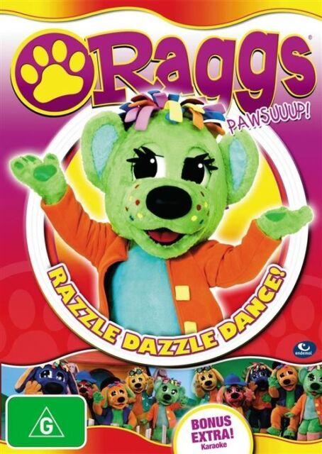 Raggs - Razzle Dazzle Dance! (DVD, 2010) new, sealed