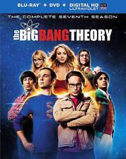 The Big Bang Theory: The Complete Seventh Season Blu-ray DVD & Slipcover