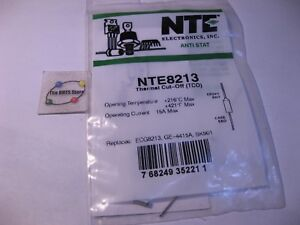 NTE8213-NTE-Thermal-Cut-Off-TCO-Replaces-ECG8213-GE4415A-SK901-NOS-Qty-1