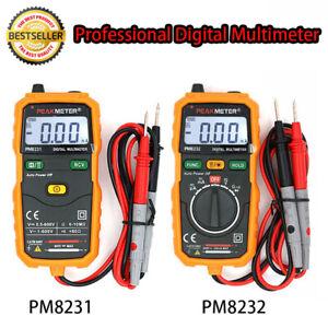 PEAKMETER Digital Multimeter Auto-Ranging Ncv Light Source Robust PM8232/ PM8231