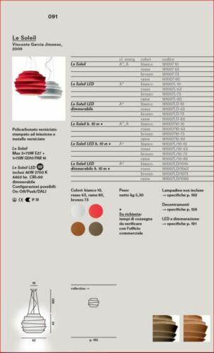 XXX- Foscarini - LE SOLEIL - E27 / LED / DIMMER - Sospensione/Suspension - 2020