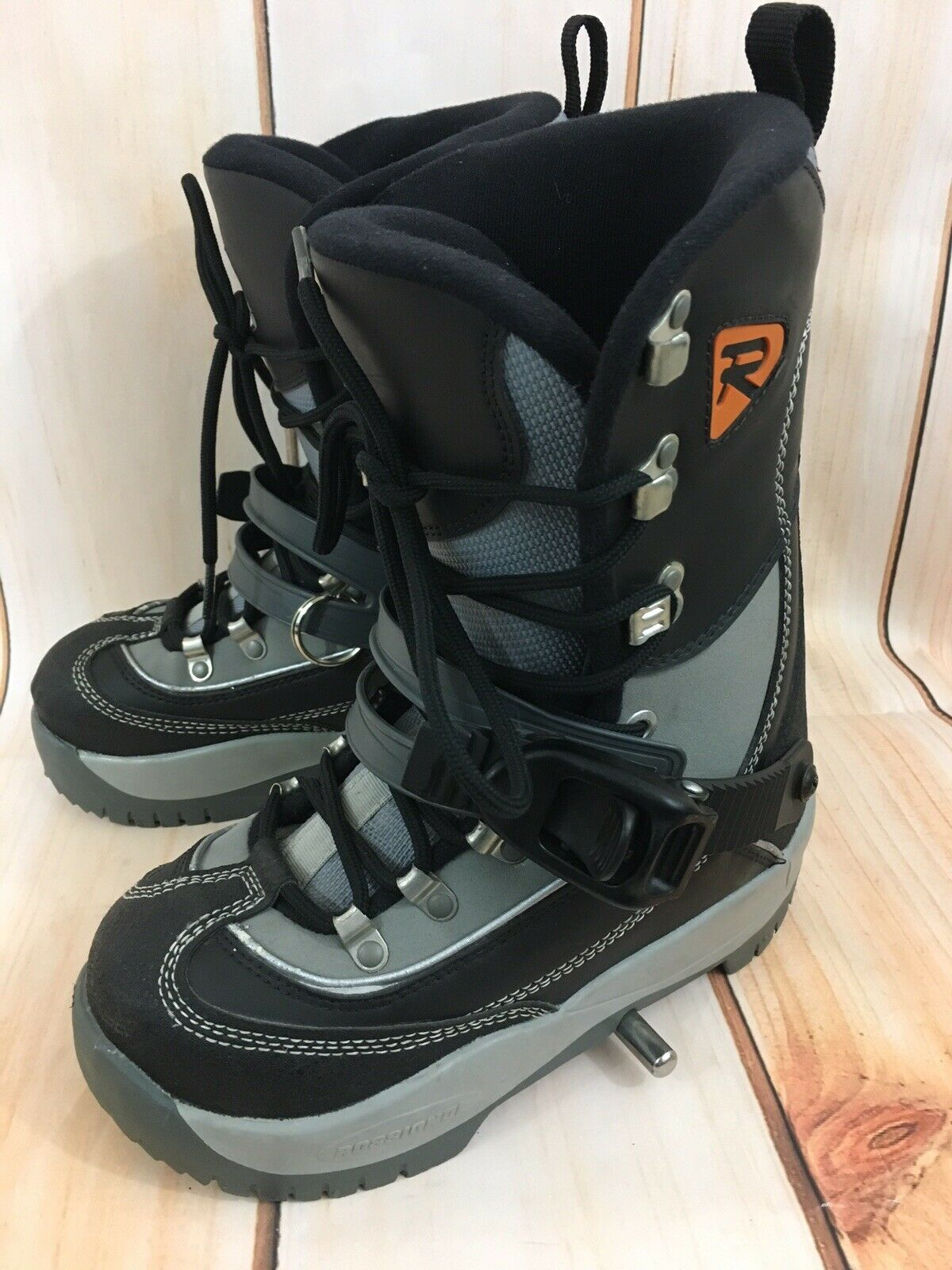 Rossignol SIS Emery Step In Snowboard Boots Sz 24 EUR Men's 5 US Women's 6 US