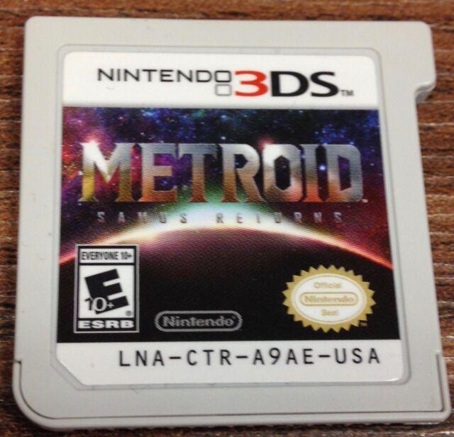 Metroid: Samus Returns (Nintendo 3DS, 2017) Cart only - Tested - SHIPS FAST!