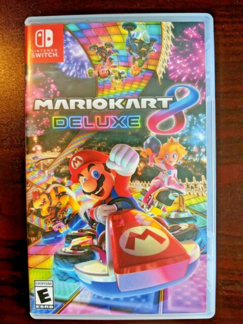 Mario Kart 8 - Deluxe (Nintendo Switch, 2018) Video Game - US Seller - Fast Ship