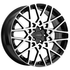 New Listing4 Vision 474 Recoil 17x8 5x108 38mm Blackmachined Wheels Rims 17 Inch Fits More Than One Vehicle