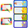 New Kids Funny Magic Water Drawing Painting Writing Board Mat Pen Toy Gifts Set