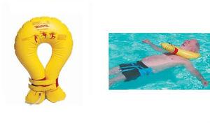 Bodyfit-Aquatic-Pool-Neck-Collar-Special-Needs-CP-Swim-Inflatable-Head-Float-NEW