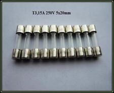 250V 20A Mikrowelle Sicherung Ersatzteil Zubehör Feinsicherung 10x Fuse Keramik