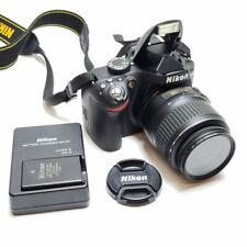 Nikon D D3200 24.2MP Digital SLR Camera - Black (Kit w/ AF-S DX ED VR G 18-55mm Lens)
