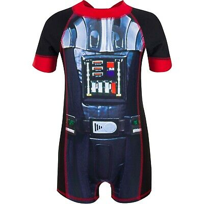 Starwars Wetsuit age 2 to 5 yrs Boys Official Boys Star Wars Swimsuit UV sunsafe