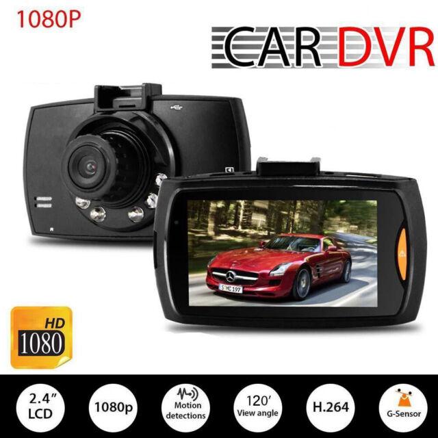 HD 1080P Car DVR Vehicle Camera Video Recorder Dash Cam G-sensor Night Vision GA