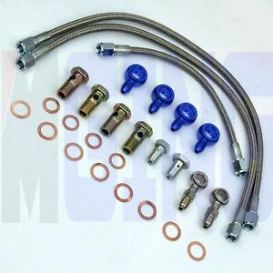 Turbo-Oil-Water-Line-For-Nissan-SR20DET-CA180DET-200SX-Silvia-S14-S15