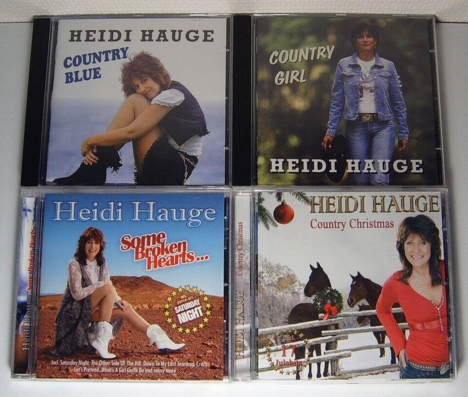 Heidi Hauge: 4 Titler, country
