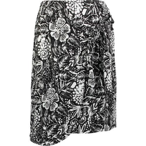 e floreale e Uk8 in Premium in nero New monocromo Artisan bianco a Ny Gonna fantasia jersey nero aPI8q6x
