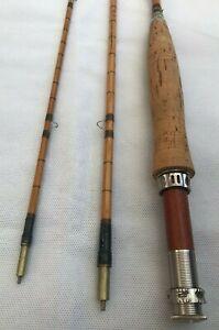 M-Foster-Original-3-Piece-Vintage-Split-Cane-Fly-Rod-MINT-Condition