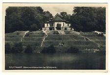 """STUTTGART-BÜSNAU Bärenschlösschen im Wildpark """"Bärenschlössle"""" * Foto-AK um 1930"""
