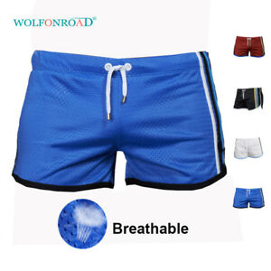 Quick-Dry-Mens-Mesh-Shorts-Basketball-Trunks-Jogger-Running-Shorts-Casual-Bottom