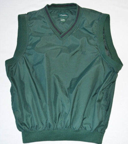 Catalina Golf Wind Vest Green Men's Medium 100% Po