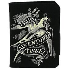 Emma Bridgewater Scroll Black Passport Holder Backpacker Traveller gift idea NEW