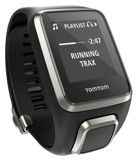 TomTom Multisport Runner 2 Spark Cardio Music Fitness Laufuhr Musik GPS Sportuhr
