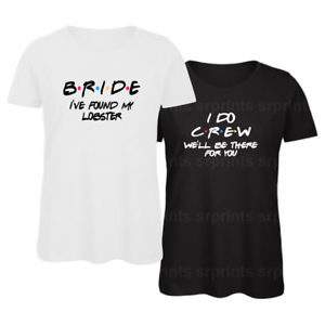 37d9d7b971b1e Details about Wedding, Hen Night Bachelor Party Bride Bridesmaid Ladies  T-Shirts Tees Tops