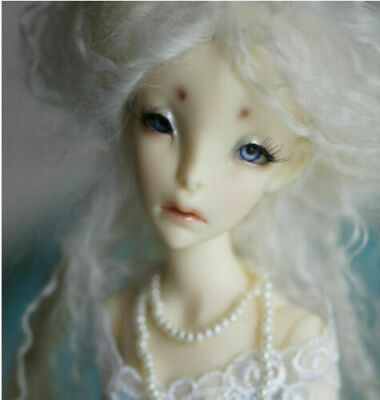 Face Up resin gift 1//4 bjd doll sd doll cute girl ball jointed dolls Free eyes